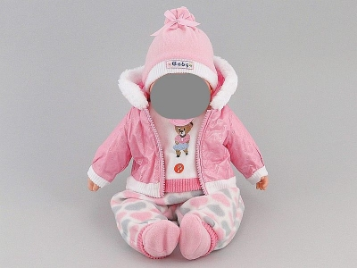 Ubranko Adar kurteczka dla lalki 45 cm (494879)