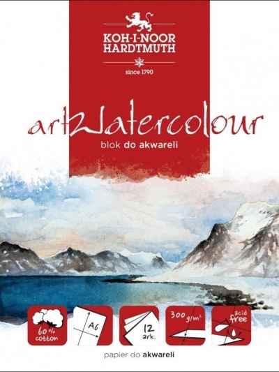 Blok akwarelowy Artwatercolour A5, 12 kartek (413527)