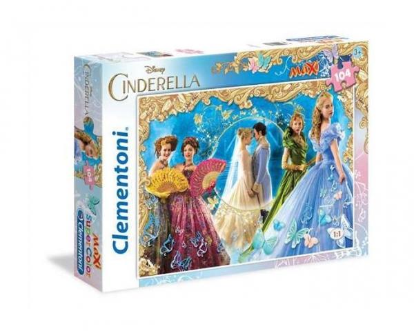 Puzzle 104 el.maxi Cinderella (23687)