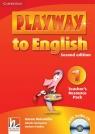 Playway to English 1 Teacher's Resource Pack + CD Gerngross Günter, Holcombe Garan, Puchta Herbert