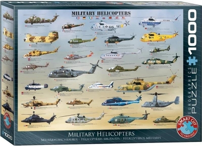 Puzzle 1000 Helikoptery