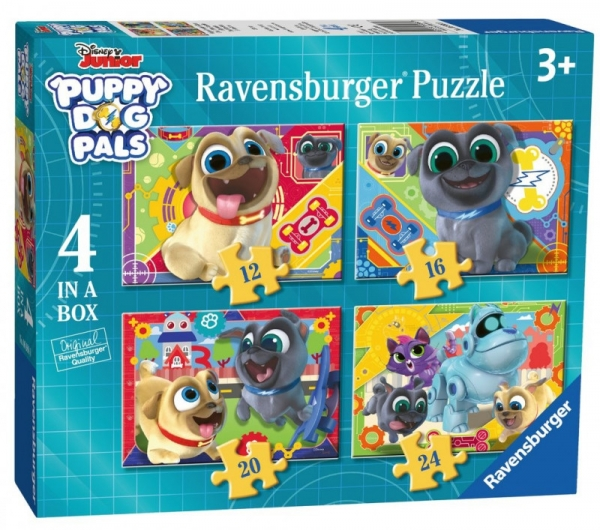 Puzzle Puppy and Dog Palls 4w1 (069880)