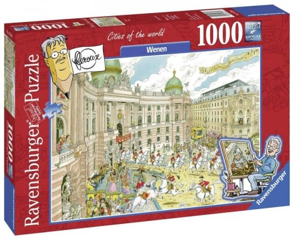 Puzzle 1000 elementów - Wiedeń 2 (197880)