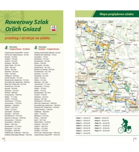 Rowerowy Szlak Orlich Gniazd - przewodnik Trzmielewski Roman