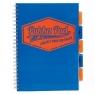 Kołozeszyt A4/100k kratka Pukka Pad Neon - niebieski (7081-NEO)