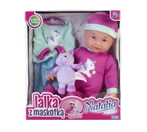 Lalka Natalia - lalka z maskotką
