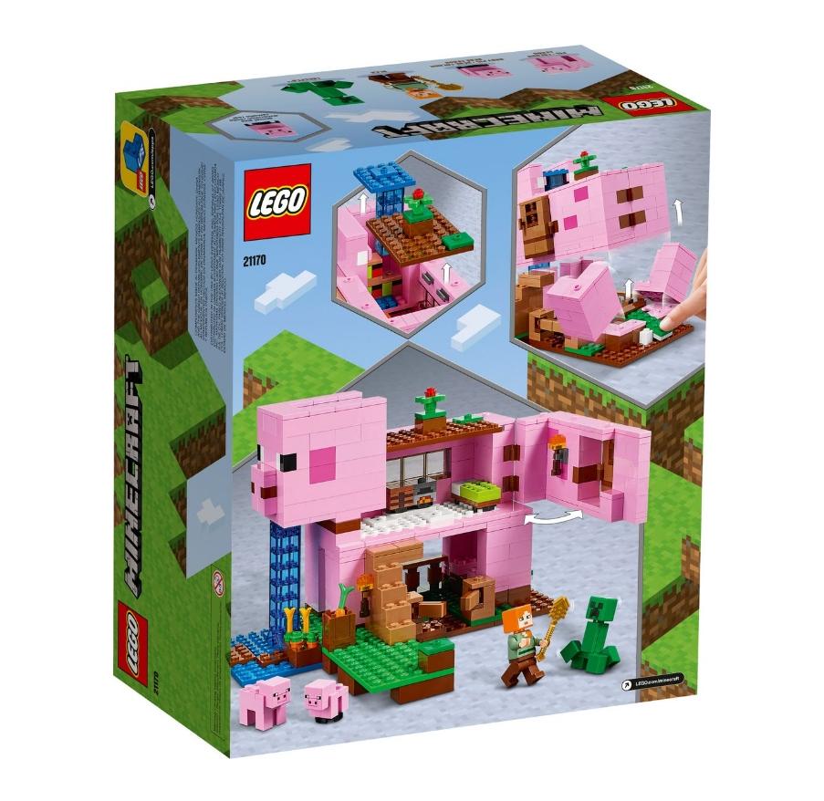 Lego Minecraft: Dom w kształcie świni (21170)