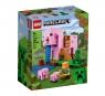 Lego Minecraft: Dom w kształcie świni (21170) Wiek: 8+