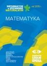 Informator o egzaminie maturalnym od 2015 r. Matematyka