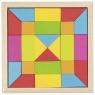 Puzzle mozaika - kolory tęczowe (58588)