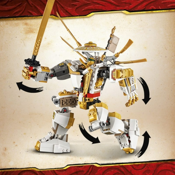 Lego Ninjago: Złota zbroja (71702)