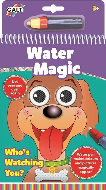 Kolorowanie wodą  Kto patrzy? Pisak na wodę