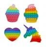 Push bubble! Zabawka sensoryczna, antystresowa, kolorowa