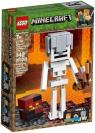 Lego Minecraft BigFig - szkielet z kostką magmy (21150) Wiek: 7+