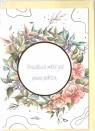 Karnet B6 Ślub cytat - Róża
