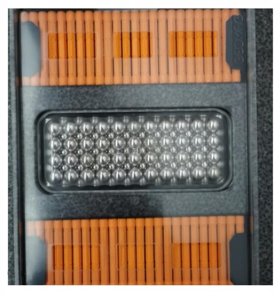 Geomag MasterBox - 248 elementów, pomarańczowy (GEO-188)
