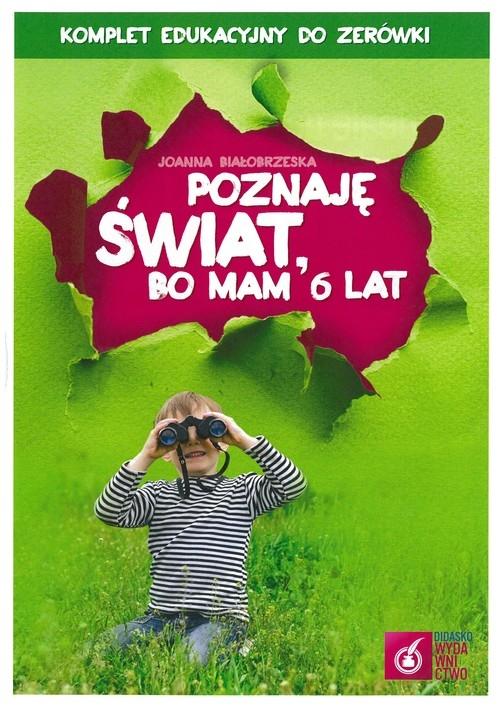 Poznaję świat bo mam 6 lat Box Białobrzeska Joanna