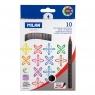 Flamastry Milan Brush 661 pędzelkowe, 10 kolorów (0612610)
