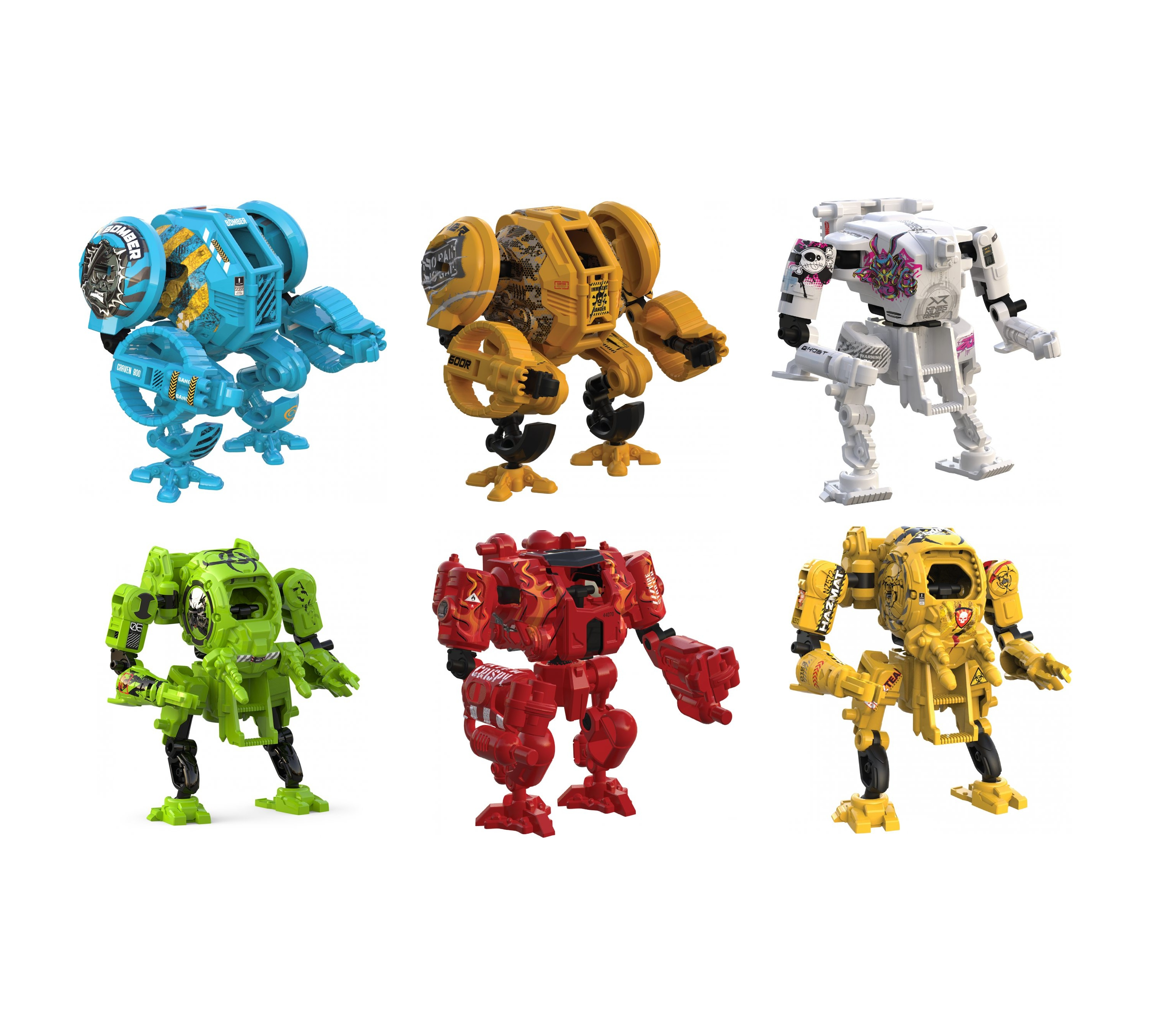 Pocket Titans - Robot niespodzianka seria 1 MIX (PTI1888)