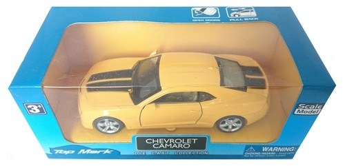 Top Mark Chevrolet Camaro żółty