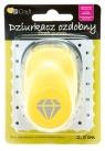 Dziurkacz ozdobny/kreatywny 2,5cm - diament deo (JCDZ-110-400)