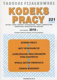 Kodeks Pracy 2018 Fijałkowski Tadeusz