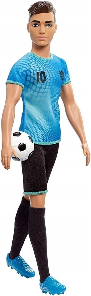 Barbie Kariera: Lalka Ken - piłkarz