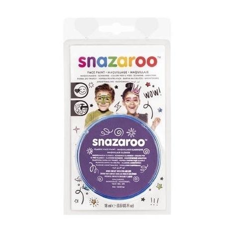 Farba do twarzy i ciała Snazaroo 18ml - purpurowa (1118888)