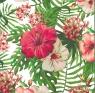 Karnet  kwadrat kwiat AF 04
