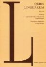 Orbis Linguarum vol.49
