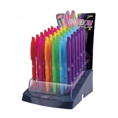 Długopis automatyczny Rainbow 1 mm niebieski