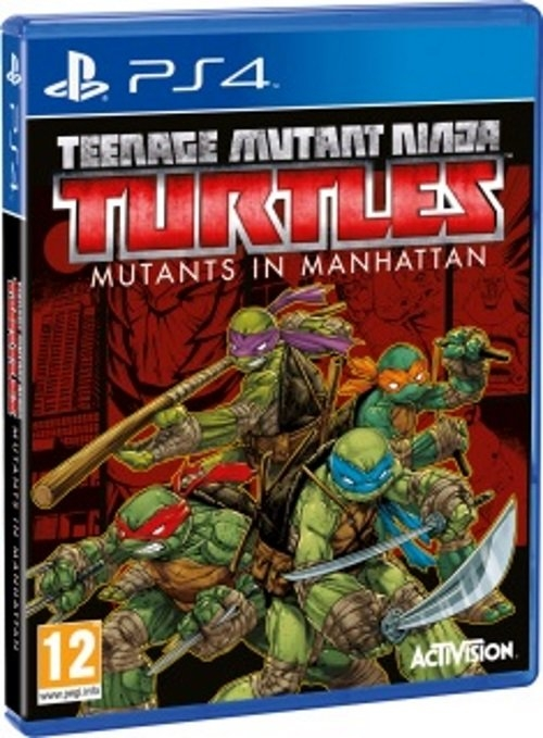 Teenage Mutant Ninja Turtless: MUTANTS IN MANHATTAN PS4