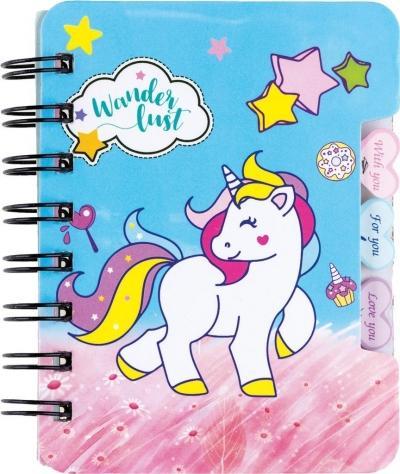 Notes na spirali Unicorn 50K