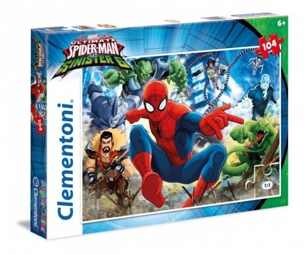 Puzzle Spiderman vs Sinister 104 elementy (27988)