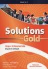 Solutions Gold Upper-Intermediate Podręcznik