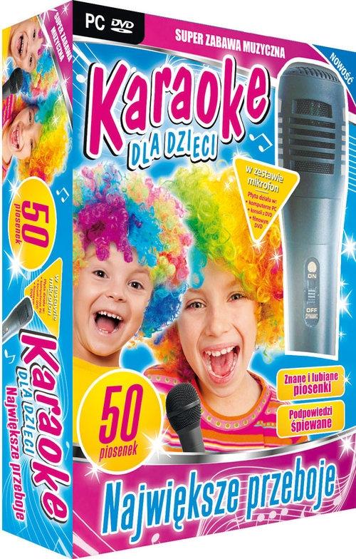 Karaoke Dla Dzieci: Największe Przeboje - z mikrofonem (PC-DVD)