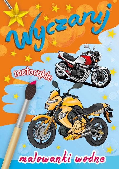 Wyczaruj motocykle Malowanki wodne