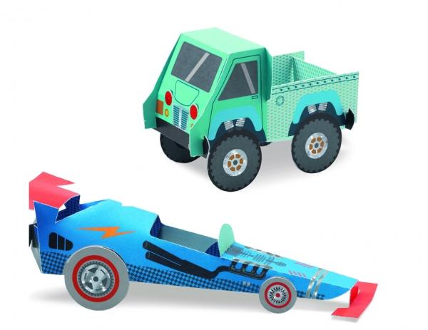 Składanki papierowe Pojazdy (DJ09702)