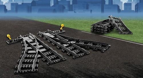 Lego City Zwrotnica kolejowa  (7895)