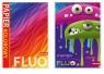 Zeszyty papierów kolorowych Dan-Mark a5/8k fluo