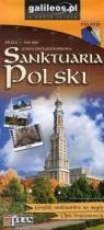 Mapa - Sanktuaria Polski 1:900 000