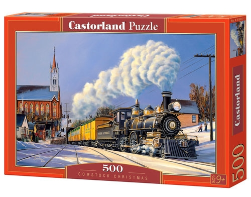 Puzzle 500 Comstock Christmas (51885)