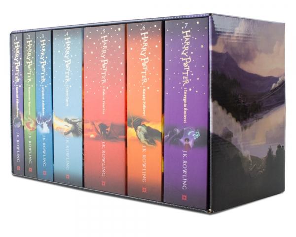 Harry Potter - Siedmiopak Duddle Rowling Joanne K.