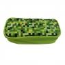 Piórnik Happy Color Pixi, prostokątny, zielony (HA 2213 4610-PI3)