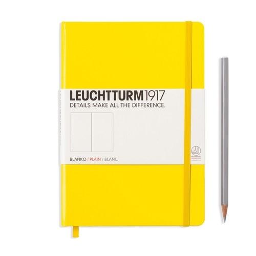 Notes Medium Leuchtturm1917 gładki cytrynowy 344801