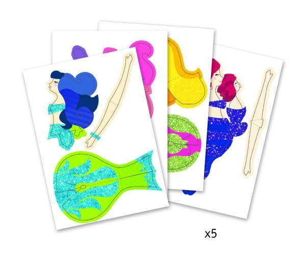 Składanki papierowe SYRENY (DJ09703)