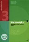 Matematyka. Podręcznik do 3 klasy liceum i technikum. Zakres Podstawowy. Nowa Podstawa Programowa