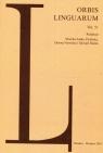 Orbis Linguarum vol.51
