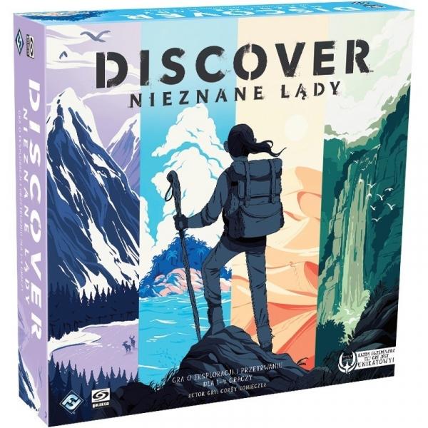 Gra Discover: Nieznane Lądy (PL-DSC01)