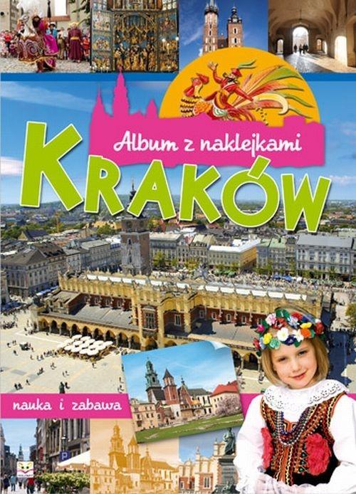Album z naklejkami Kraków